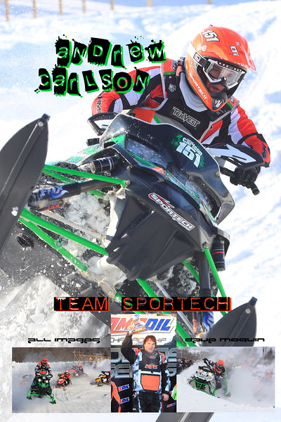Snocross Photo Collages