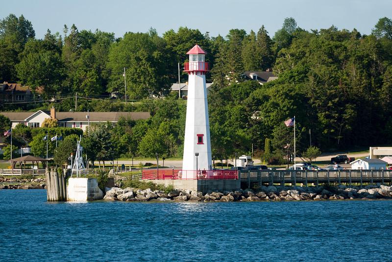 The St. Ignace Lighthouse