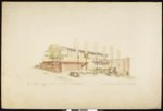 Architectural sketch of a 4-unit apartment house project, [by] Carl Louis Marston, [s.d.]