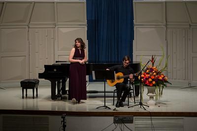 Senior Recital Rachel Veszpeller and Marysol Zaragoza 2015