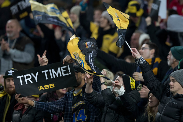 Try Time during game 8 of the British and Irish Lions 2017 Tour of New Zealand,The match between  Hurricanes and British and Irish Lions, Westpac Stadium, Wellington, Tuesday 27th June 2017 (Photo by Kevin Booth Steve Haag Sports)  Images for social media must have consent from Steve Haag
