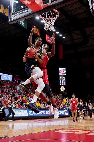 NCAA Basketball 2019 - Michigan Wolverines at Rutgers Scarlet Knights 2/5/2019