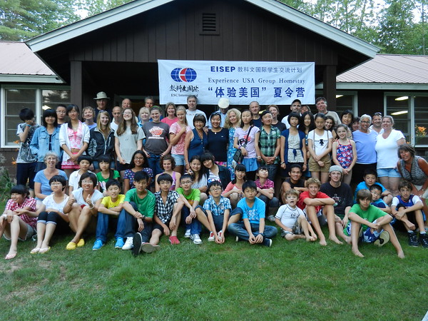 Chinese Student Visit With Host Families