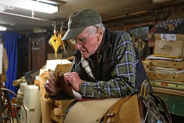 Russ Bigelow, Harness Maker