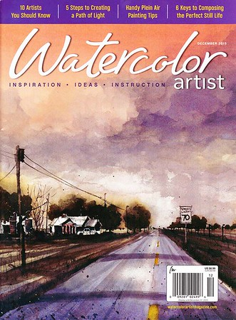 Watercolor Artist Magazine, Feature Article