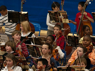 2009 Jan 28 - Brady's first concert (Viola)