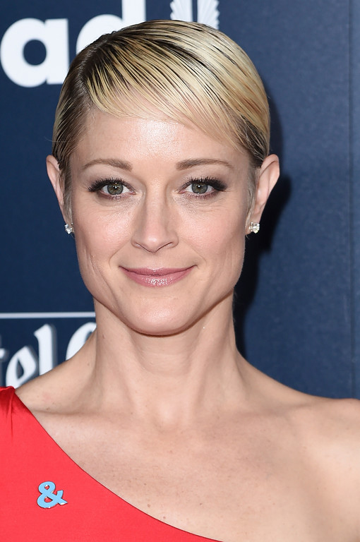 . Teri Polo attends the 28th Annual GLAAD Media Awards at the Beverly Hilton Hotel on Saturday, April 1, 2017, in Beverly Hills, Calif. (Photo by Richard Shotwell/Invision/AP)