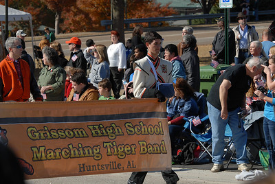 GHS Vets Day Parade 11-11-11