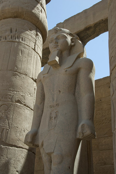 Pharaoh Statue at the Luxor Temple - Luxor, Egypt