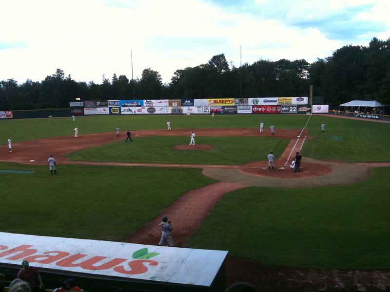 Some beautiful August baseball!