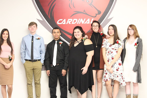 '19 Cardinal NHS Induction/Reception Ceremony