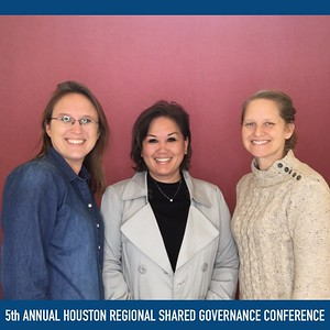 November 12, 2019 - 5th Annual Houston Regional Shared Governance Conference