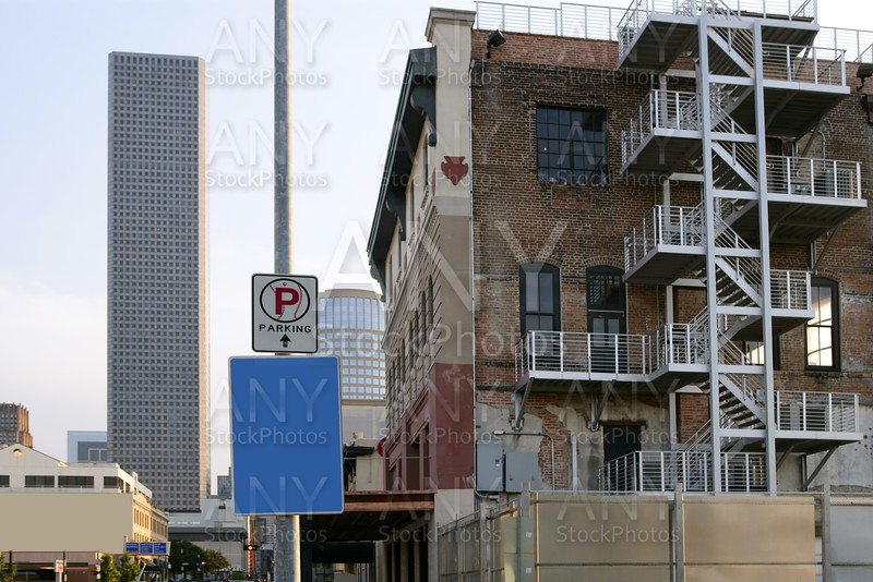 Houston City view from out town in Texas