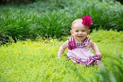 Jenna at 6 months