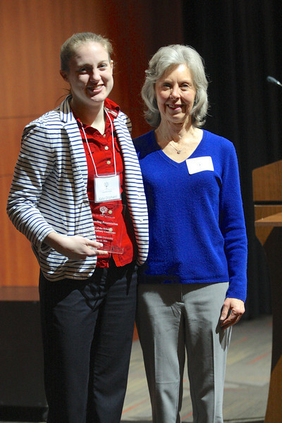 Kate Oliphant with mentor Dr. Carolyn Billings