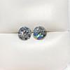 4.08ctw Old European Cut Diamond Pair, GIA I VS2, I SI1 5
