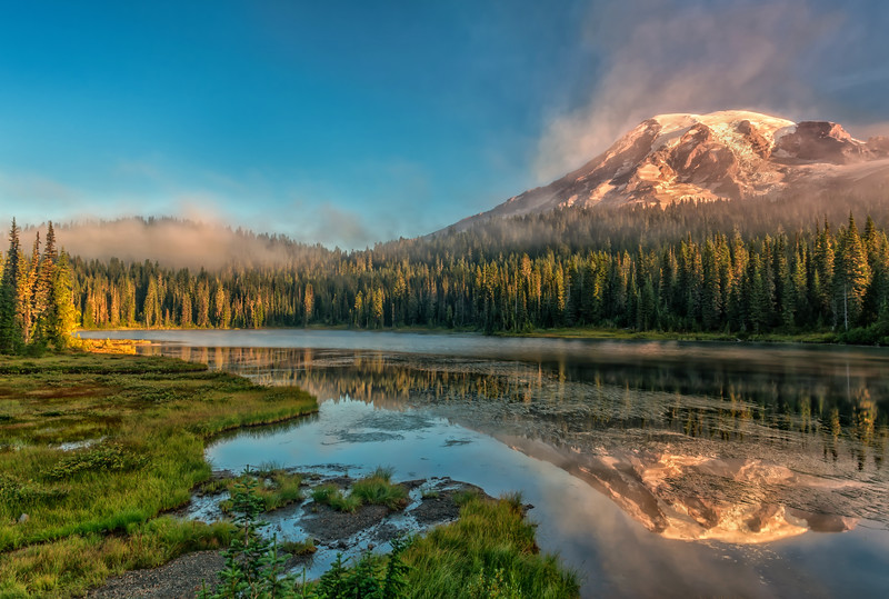 Reflecting on Rainier