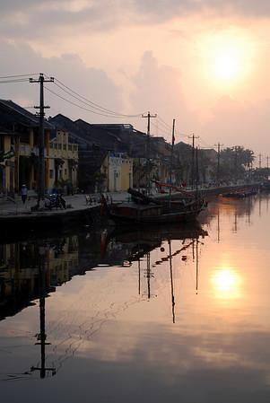 Sunrise at Hoi An, pt. 1 - March 2008