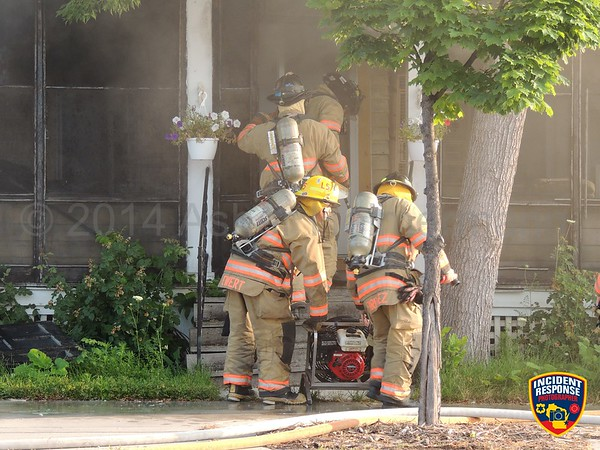 House fire on July 28, 2014
