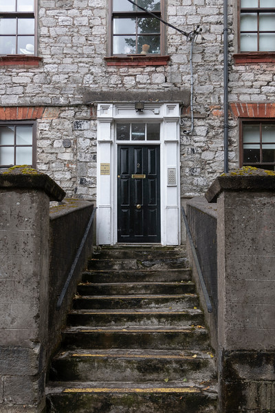 Fa�ade of a building, City of Cork, County Cork, Ireland