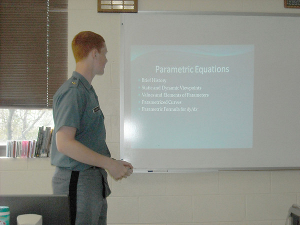 Calculus Presentations