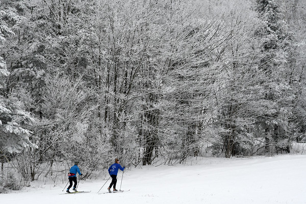Cross Country Skiers at Prospect Mountain - 010621