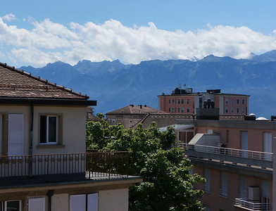 Lausanne Room with a View