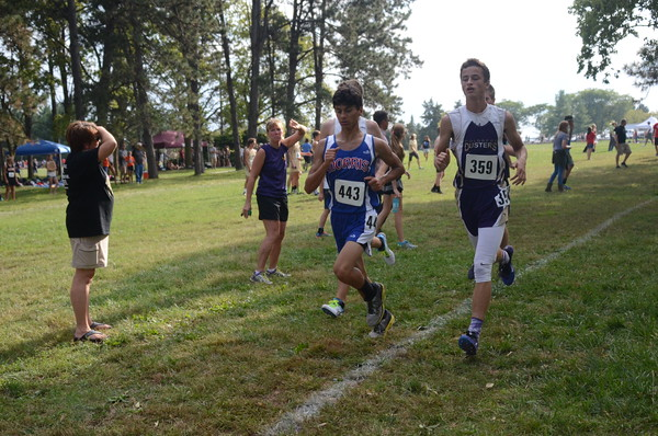 Cross Country at Pius Invite