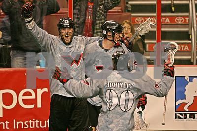 1/21/2012 - Washington Stealth vs. Philadelphia Wings - Wells Fargo Center, Philadelphia, PA