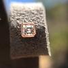 .52ctw Asscher Cut Diamond Bezel Stud Earrings, 18kt Rose Gold 18
