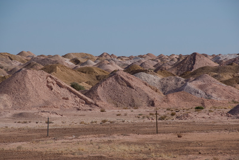 Mine Piles 2 - Coober Pedy, South Australia
