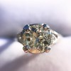 1.88ctw Platinum Filigree Solitaire Ring by C.D. Peacock, GIA S-T, VS 18