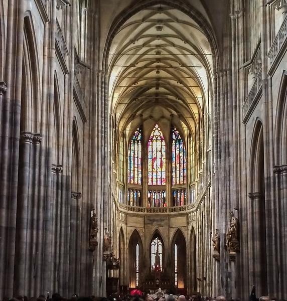 Prague: St. Vitus Cathedral, apse