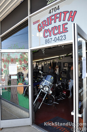 10.30.10 Garry Griffith Cycle Open House by Rocky