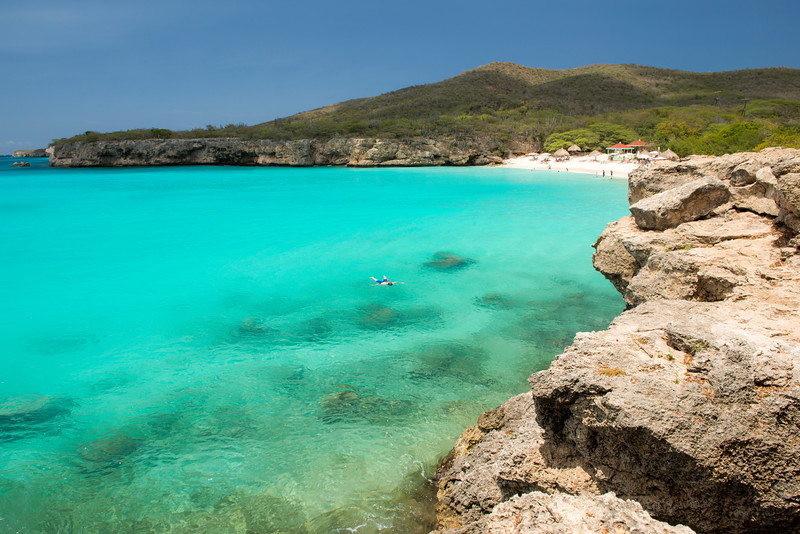 The stunning waters of Grote Knip on the West End of Curacao