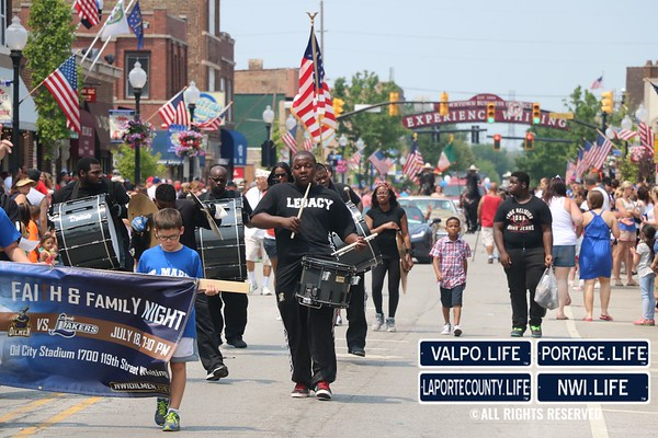 2015 Whiting Annual 4th of July Parade