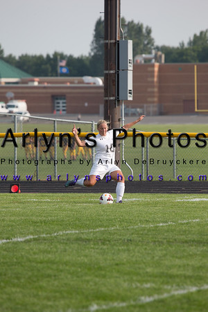 Hutch Girls Soccer vs Waconia