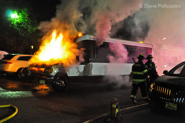 6-16-12 Paramus, NJ Motor Vehicle Fire: 375 Route 17, All American Ford