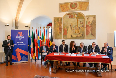 20190409 Conferenza Stampa VNL Perugia
