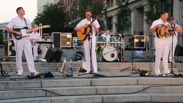 Navy Memorial - Country Current concert (7-17-12)