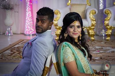 Santhya &  Chris :  Wedding Reception