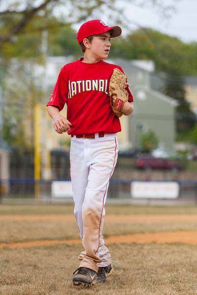 John strikes out the 2nd batter in the bottom of the 4th inning. The Nationals started out their season with a 4-1 win over the Pirates. 2012 Arlington Little League Baseball, Majors Division. Nationals vs Pirates (14 Apr 2012) (Image taken by Patrick R. Kane on 14 Apr 2012 with Canon EOS-1D Mark III at ISO 200, f2.8, 1/1600 sec and 110mm)