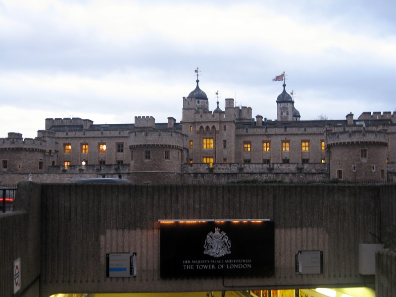 Entrance to Her Majesty's Royal Palace and Fortress The Tower of London