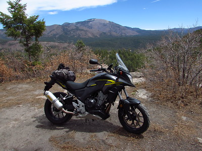 Jemez Mtns. - NM 4-White Rock Overlook Park-NM 14 AT Ride & Hike  4/26/21