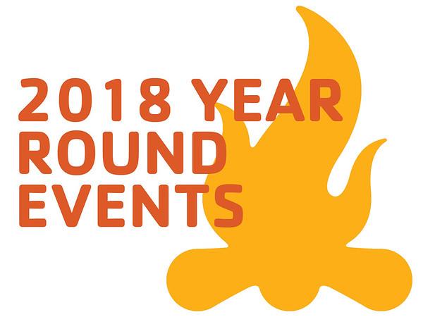 2018 Year Round Events