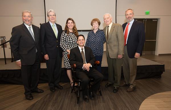 Bernard J. Fogel Endowed Chair presented to Alex J. Mechaber, M.D. '94 - October 27, 2016