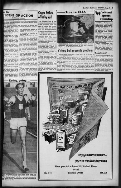 Southern California Trojan, Vol. 35, No. 13, August 02, 1943