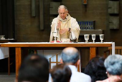 May 31, 2015 - 9:45 am Mass by Fr. Jack Buckalew