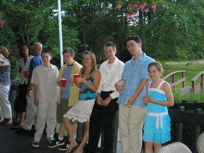 Ben & AnneMarie's Reception July 1, 2006