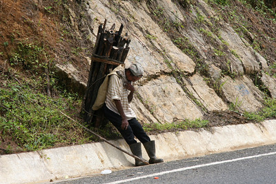 Chisec-Sayaxche Road Collapse